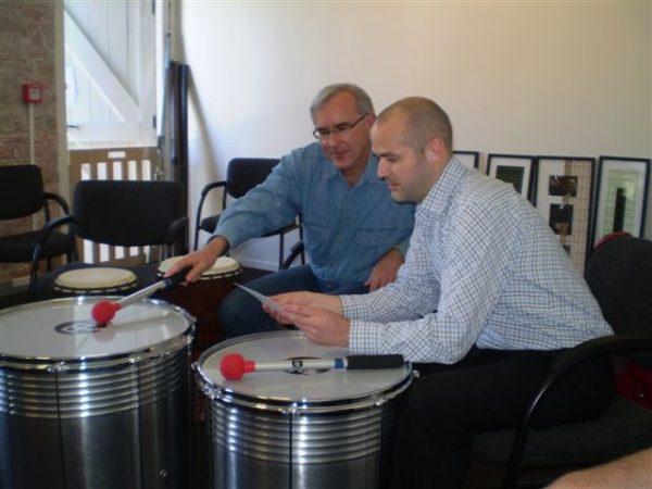 Trommel Workshop Djembe Bedrijfsuitje
