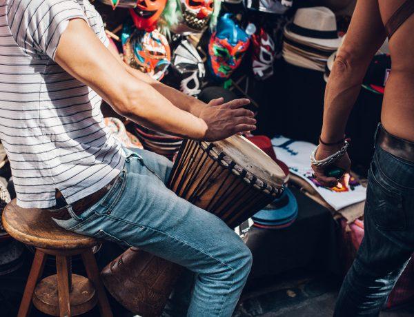 Trommel Workshop Djembe